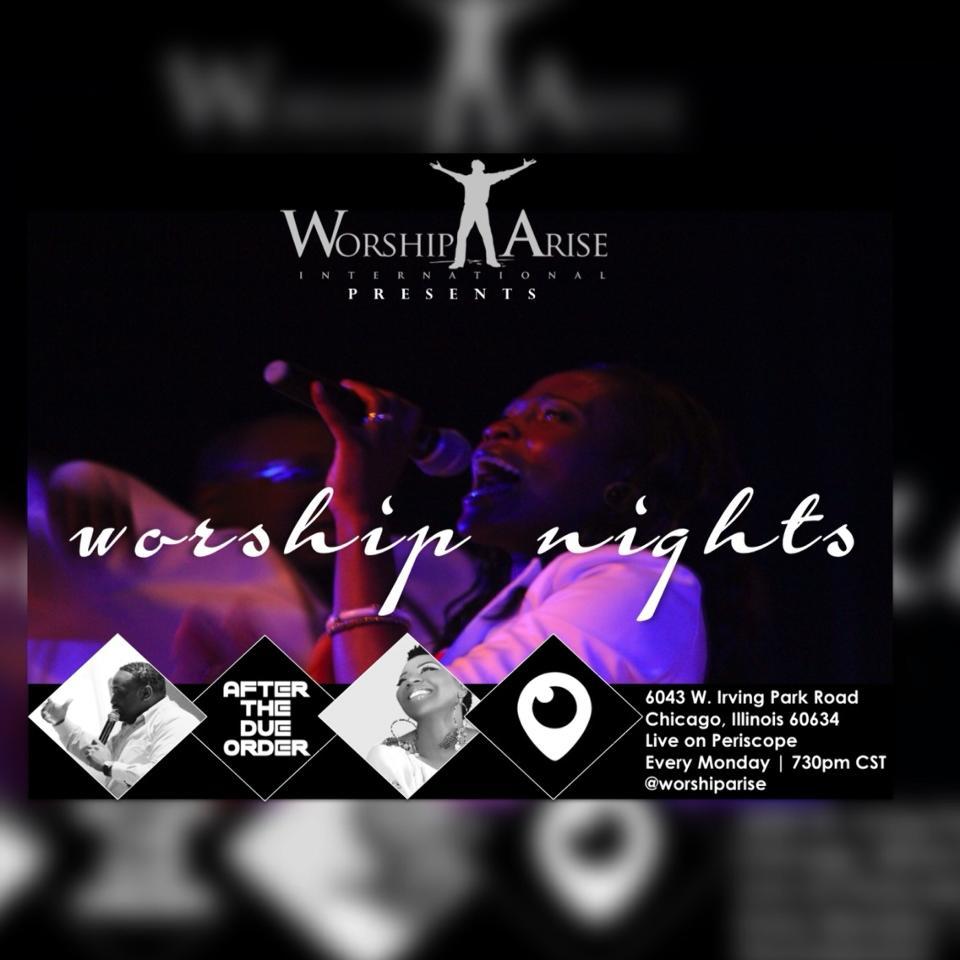 Worship Nights Flyer